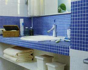 Полка в ванной под раковину своими руками 66