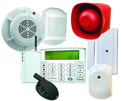 Устройства охранной сигнализации