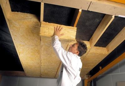 Izolácia betónového stropu