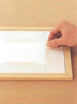 Изготовление простой рамки для картин
