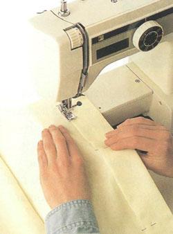 Изготовление подкладки для штор