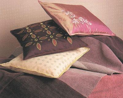 Квадратная подушка