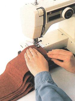 Изготовление подушки-сиденья