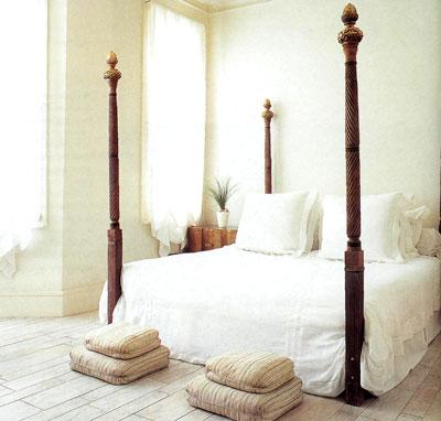 Спальни этнического стиля