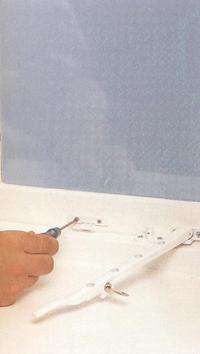 Установка на окна защитных устройств