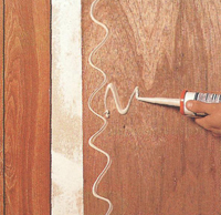 Обшивка стен листовым материалом