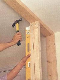 Как сделать деревянную перегородку в комнате своими руками 56