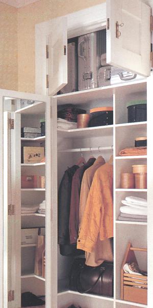 Устройство шкафчиков