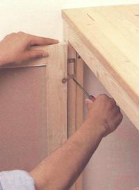 Встроенный шкафчик