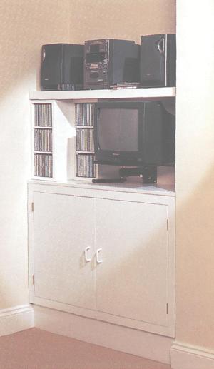Шкафчик для мультимедиа