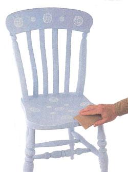 Окрашивание мебели