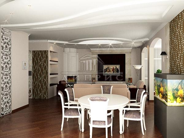 Дизайн интерьера 5 и комнатной