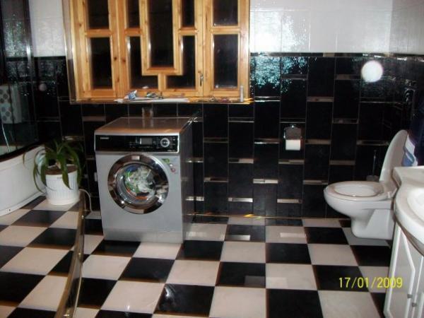 Ванная комната в коттедже, Девяткино