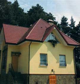 Красные крыши – современная роскошь или дань традициям