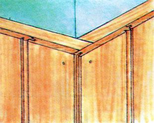 Деревянные панели из вагонки