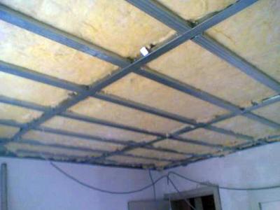 утепление потолка в квартире