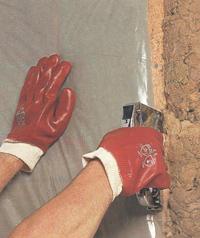 Подготовка стен к обшивке