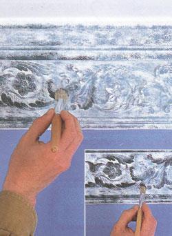 Металлизированная краска: патина