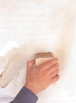 Окрашивание под мрамор